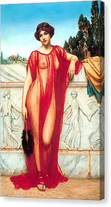 Athenais Canvas Print by Sumit Mehndiratta