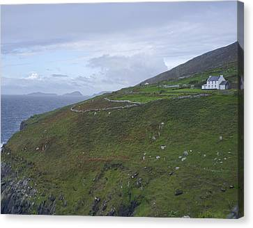 Canvas Print featuring the photograph Atlantic Coast Ireland by Hugh Smith