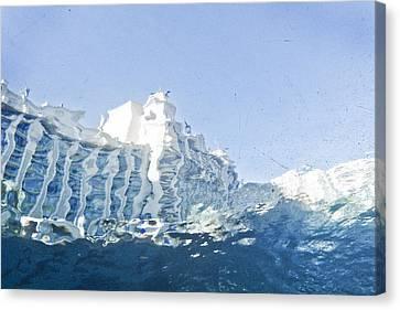 Atlantis Canvas Print by Robert Ponzoni