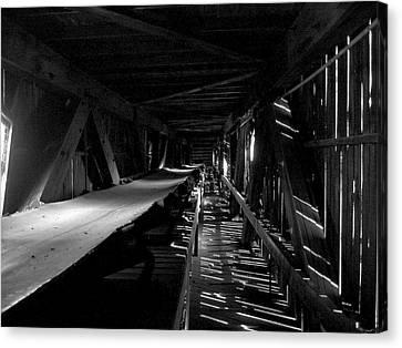 Canvas Print featuring the photograph Atlas Coal Mine2 by Brian Sereda