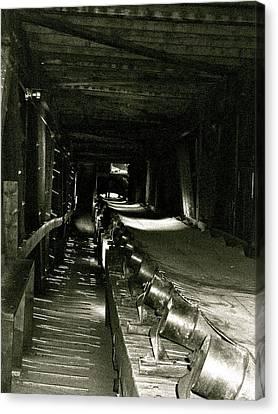 Canvas Print featuring the photograph Atlas Coalmine by Brian Sereda