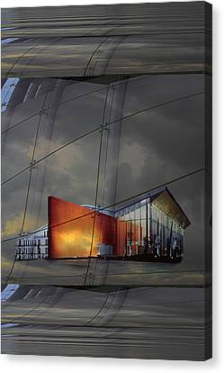 Auditorium Miguel Delibes Canvas Print