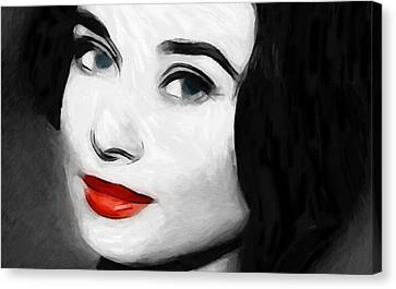 Audreys Look Canvas Print by Steve K