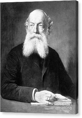 August Kekul�, German Organic Chemist Canvas Print