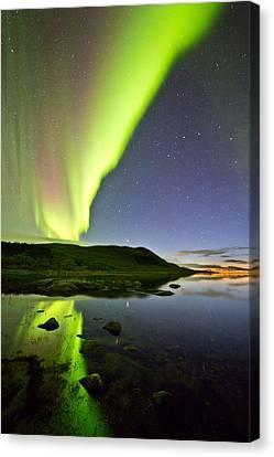 Aurora Raising Canvas Print