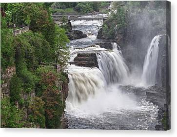 Ausable Chasm 5172 Canvas Print by Guy Whiteley