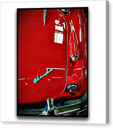 Austin Healy 3000 Canvas Print by Paul Cutright