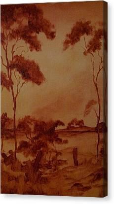 Australia  Canvas Print by Paul Morgan
