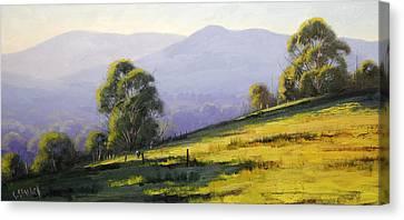Gum Trees Canvas Print - Australian Landscape by Graham Gercken