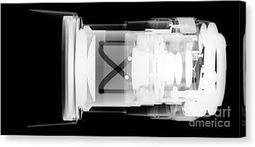 Auto-focus Lens Canvas Print by Ted Kinsman