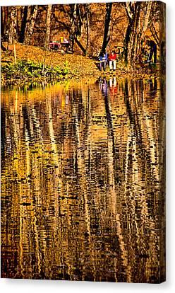 Autumn - 2 Canvas Print by Okan YILMAZ