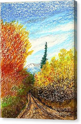 Autumn Ablaze Canvas Print