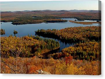 Autumn At Low's Lake Canvas Print
