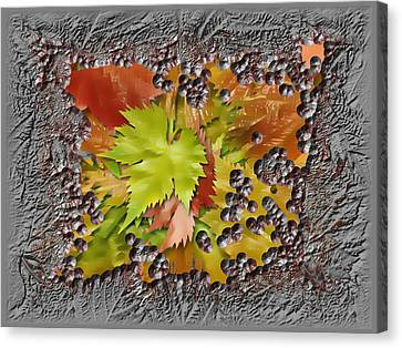 Canvas Print - Autumn Autumn by Tinatin Dalakishvili