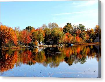 Autumn Bronze Canvas Print