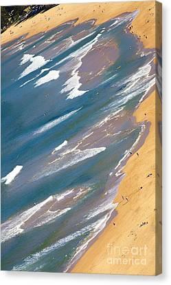Autumn Day At Palm Beach Sydney Canvas Print by Avalon Fine Art Photography