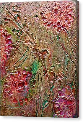 Canvas Print featuring the painting Autumn Daze by D Renee Wilson