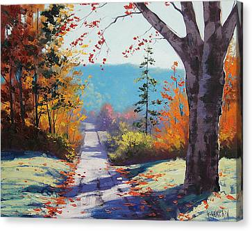 Autumn Delight Canvas Print by Graham Gercken