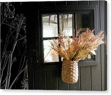 Autumn Door Canvas Print