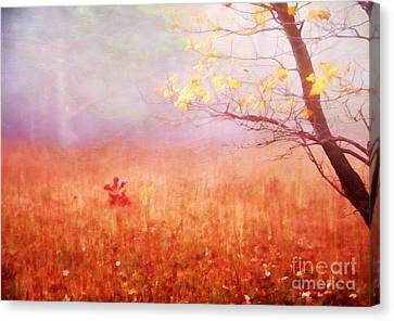 Autumn Dreams Canvas Print by Darren Fisher