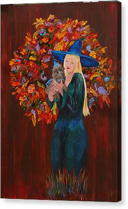 Autumn Fantasy Canvas Print by Gail Daley