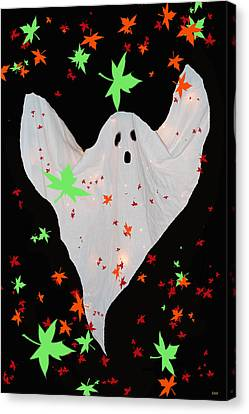 Autumn Ghost Canvas Print by Debra     Vatalaro