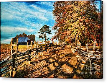 Autumn In The Gap Canvas Print