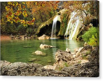 Autumn In Turner Falls Canvas Print