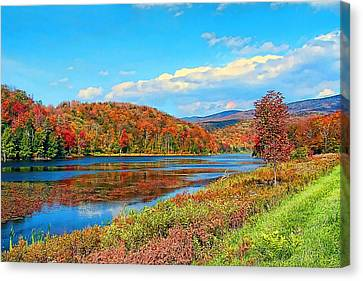 Autumn Invermont Canvas Print