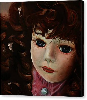 Autumn Canvas Print by Jane Autry
