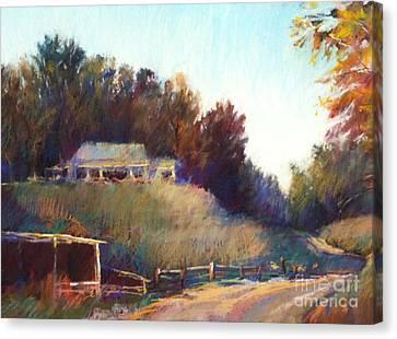 Autumn Light Canvas Print by Pamela Pretty