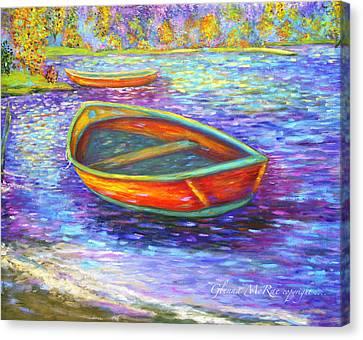 Canvas Print - Autumn Morn On Mossy Lake by Glenna McRae