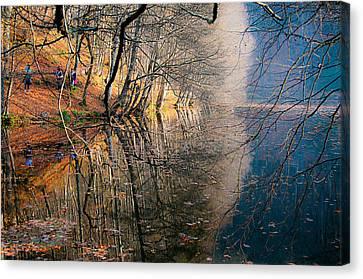 Autumn Canvas Print by Okan YILMAZ