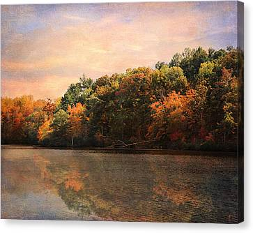 Autumn Reflections 2 Canvas Print by Jai Johnson