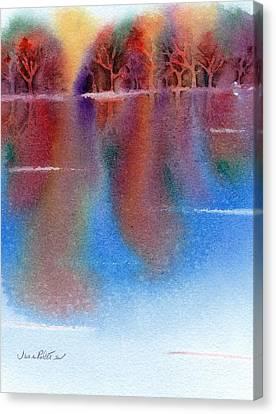 Autumn Reflections No. 6 Canvas Print