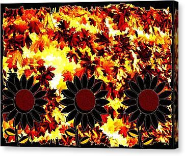 Autumn Serenade Canvas Print by Will Borden