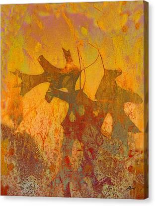 Abstract Digital Canvas Print - Autumn Sun by Ann Powell