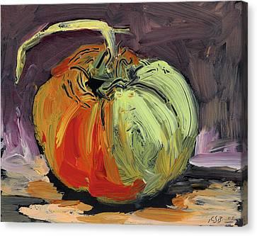 Autumn Tomato Canvas Print by Scott Bennett