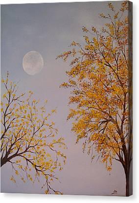 Autumn Twilight  Canvas Print