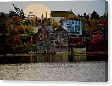 Autumn View Canvas Print by Kurt Adams