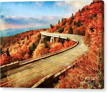 Autumn Views Canvas Print by Darren Fisher