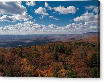 Autumn Vista Canvas Print by Jim DeLillo