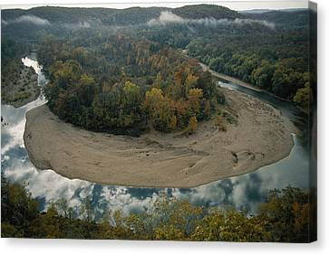 Autumnal View Of One Of The Loops Canvas Print by Randy Olson