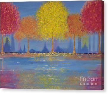 Autumn's Bliss Canvas Print