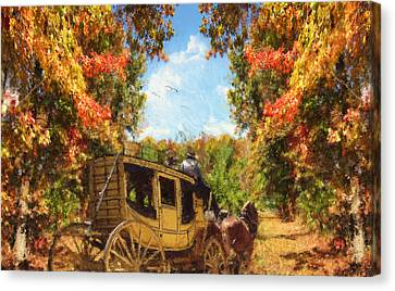 Autumn's Essence Canvas Print by Lourry Legarde