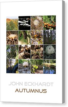 Autumnus Canvas Print by John Eckhardt