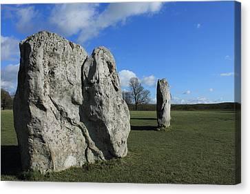 Avebury Stones Canvas Print by Adrian Wilkins