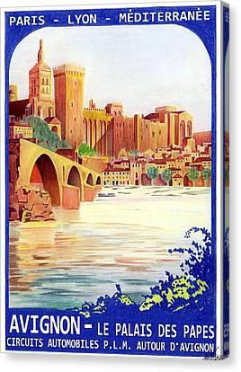 Avignon Deco Canvas Print by Lyle Brown