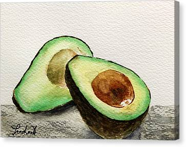 Avocado Canvas Print by Prashant Shah