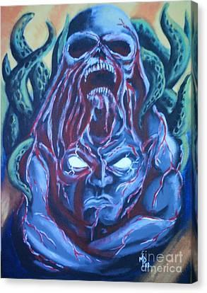 Awakened From Stone Canvas Print by Matt Detmer